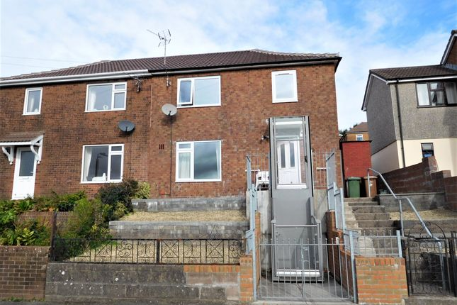 Thumbnail Semi-detached house for sale in Heol Derw, Hengoed, Caerphilly