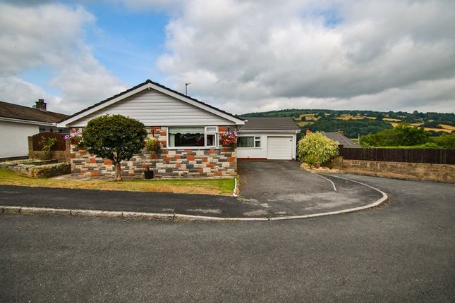 Thumbnail Detached bungalow for sale in Twyn Pandy, Llangynidr, Crickhowell