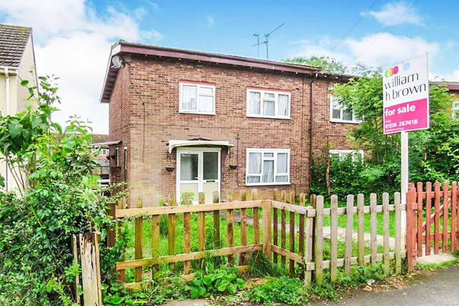 Thumbnail End terrace house for sale in Gainsborough Road, Corby