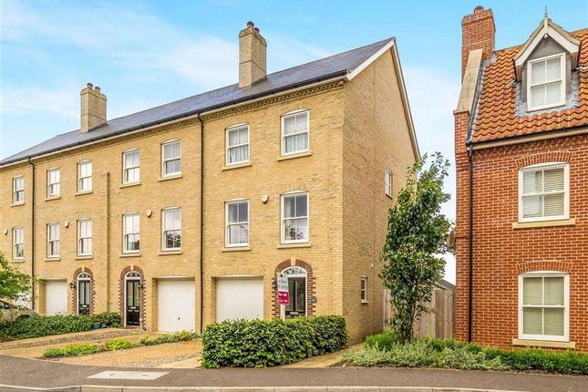 Thumbnail End terrace house for sale in St Michaels Avenue, Aylsham, Norwich