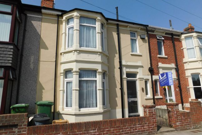 Thumbnail Terraced house to rent in Highgrove Road, Baffins, Portsmouth