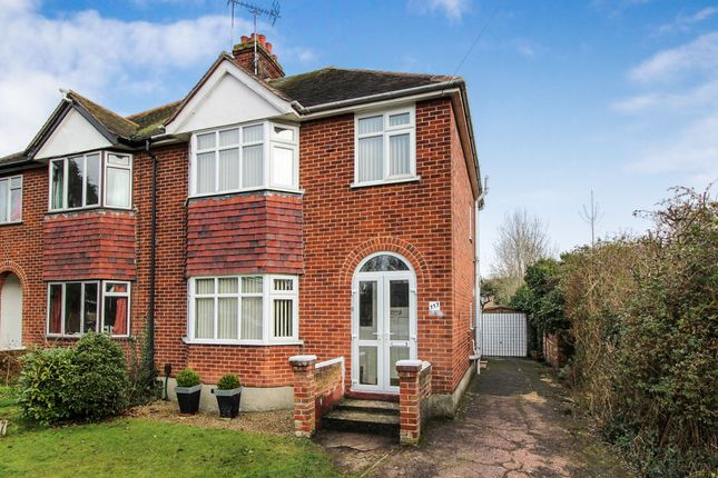 Thumbnail Semi-detached house for sale in Ipswich Road, Colchester