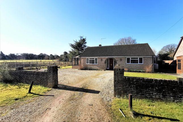 Thumbnail Detached bungalow for sale in Sainfoin Lane, Oakley, Basingstoke