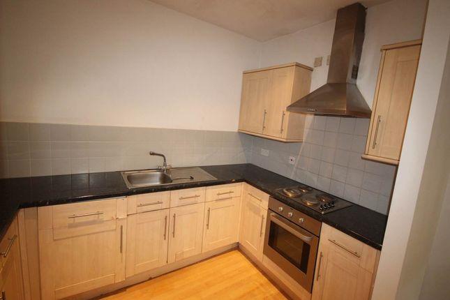 Kitchen of 1 Hick Street, Burnett Street, Little Germany, Bradford BD1