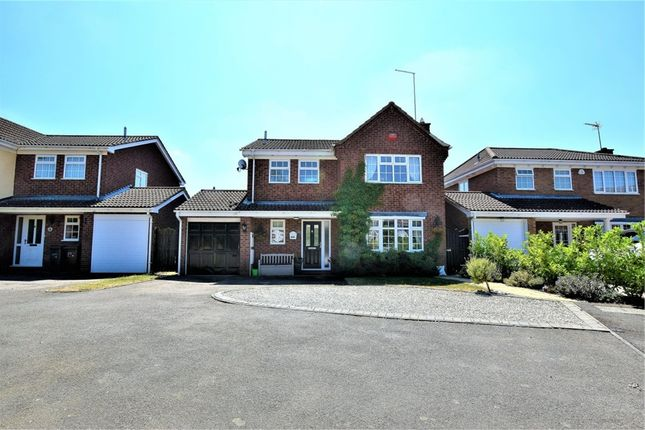 Thumbnail Detached house for sale in Rosemoor Drive, East Hunsbury, Northampton
