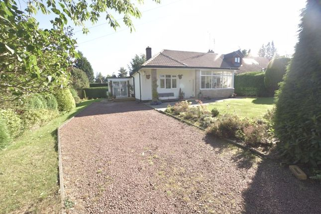 Thumbnail Semi-detached bungalow for sale in The Rise, Ponteland, Newcastle Upon Tyne