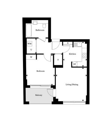 1 bedroom flat for sale in Wharf Road, Islington, London
