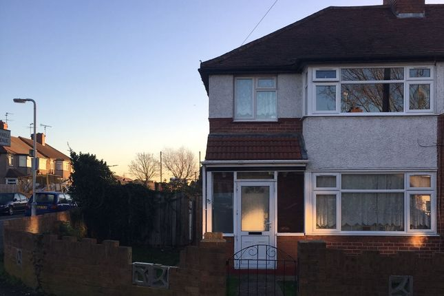 Thumbnail Semi-detached house to rent in Mildred Avenue, Hayes