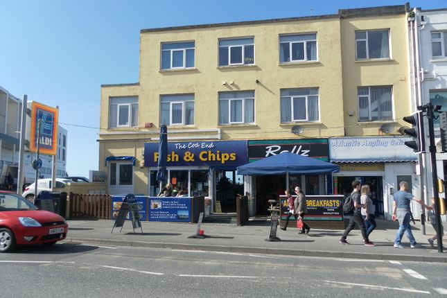 Thumbnail Restaurant/cafe for sale in 9 Cliff Road, Newquay
