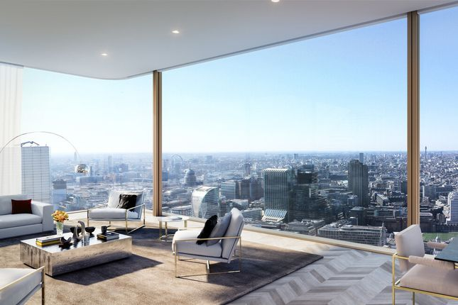Thumbnail Flat for sale in 2 Bed Penthouse Apartment Worship Street, London