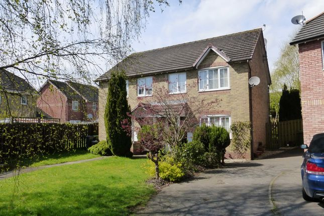 Thumbnail Semi-detached house for sale in Burreed Close, St. Mellons, Cardiff