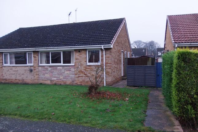 Thumbnail Semi-detached bungalow to rent in Harfry Walk, Goole