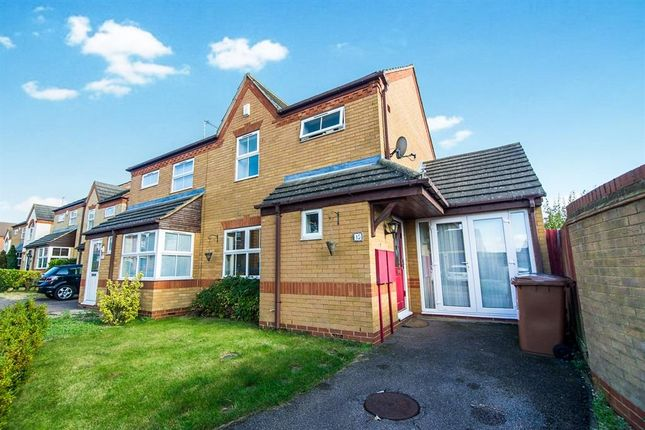 Thumbnail 3 bed semi-detached house to rent in Ditchford Close, Wootton, Northampton