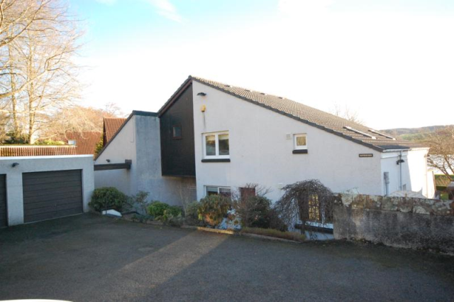 Thumbnail Detached house to rent in Inchgarth Road, Cults AB15,