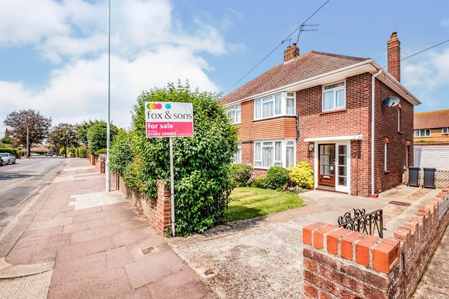 Thumbnail Semi-detached house for sale in Wiston Avenue, Broadwater, Worthing