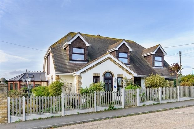 Thumbnail Detached house for sale in Canterbury Road West, Cliffsend, Ramsgate
