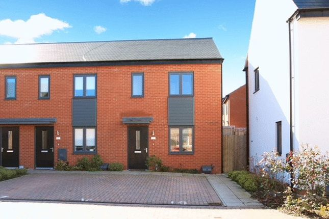 Thumbnail End terrace house for sale in Cheshires Way, Telford