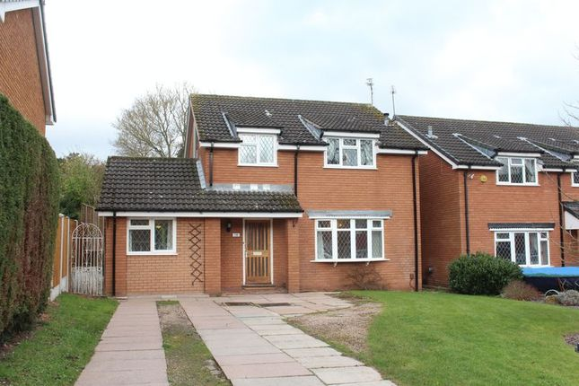 Thumbnail Detached house for sale in Carnforth Close, Kingswinford
