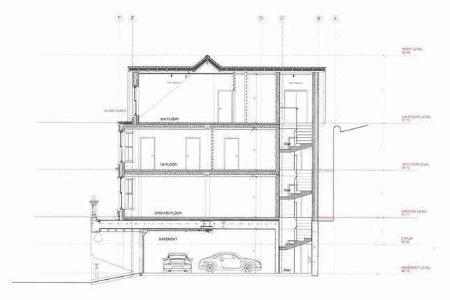 Section B-B of Polkirt Hill, Mevagissey, St. Austell PL26