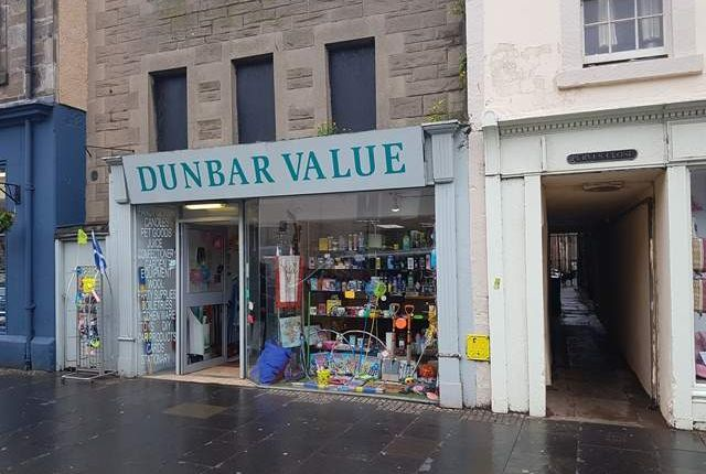 Thumbnail Commercial property for sale in Abbeylands, High Street, Dunbar
