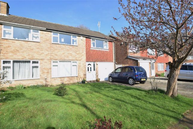 Thumbnail Semi-detached house to rent in Kenmore Close, Frimley, Surrey