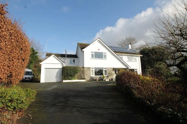 Thumbnail Detached house for sale in Thornhill Way, Plymouth