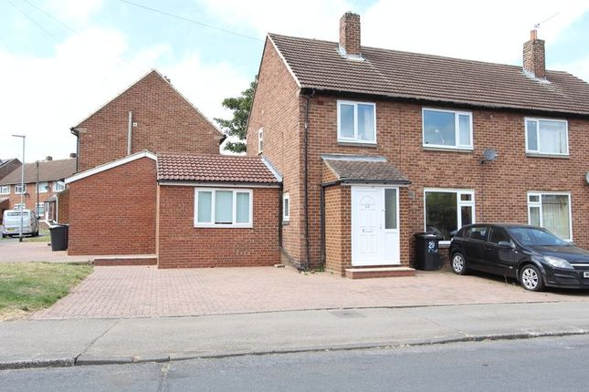 Thumbnail Semi-detached house to rent in Newton Drive, Framwellgate Moor, Durham