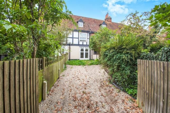 Thumbnail Terraced house for sale in St Stephens Fields, Canterbury, Kent, United Kingdom
