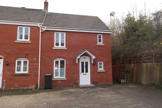 Thumbnail End terrace house for sale in Medley Court, Exeter