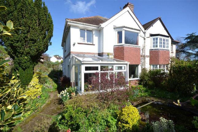 Thumbnail Semi-detached house for sale in East Budleigh Road, Budleigh Salterton, Devon