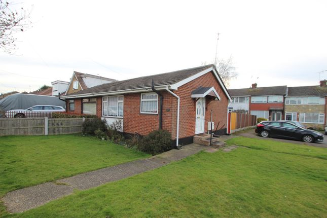 Thumbnail Semi-detached bungalow for sale in St. Clements Road, Benfleet