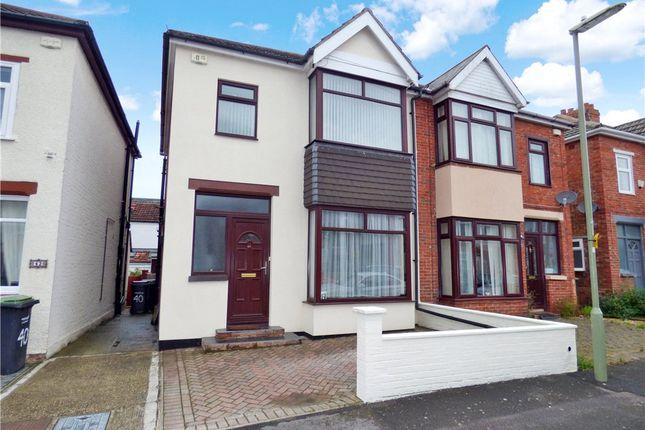 Thumbnail Semi-detached house for sale in Kensington Road, Gosport, Hampshire