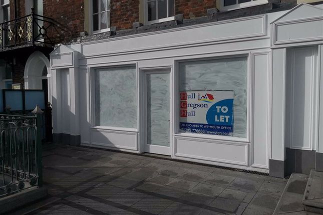 Retail premises for sale in The Carriages, Victoria Street, Weymouth
