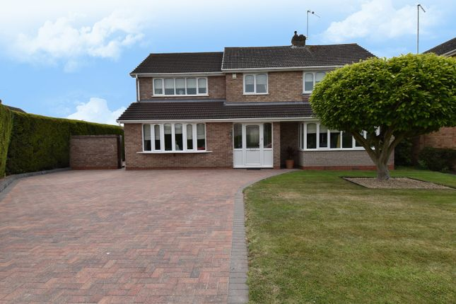 Thumbnail Detached house for sale in Minter Avenue, Droitwich