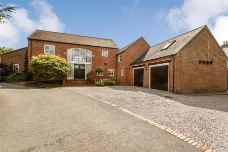 Thumbnail Detached house for sale in Leire, Lutterworth, Leicestershire