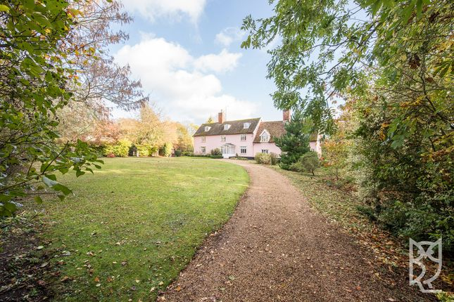Thumbnail Detached house for sale in Pettistree, The Street, Woodbridge