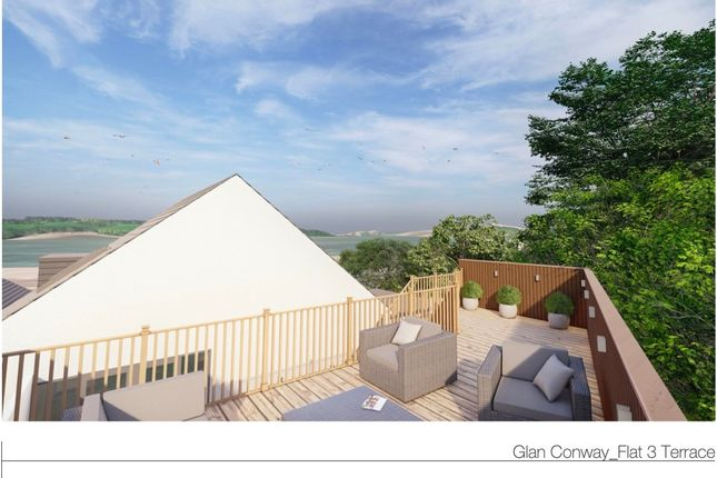 Thumbnail Flat for sale in Apts 3 - The View, Llanrwst Road, Glan Conwy