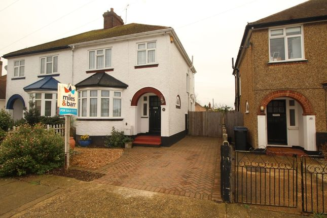 Thumbnail Semi-detached house for sale in Bognor Drive, Herne Bay