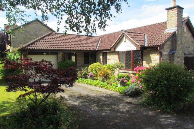 Thumbnail Detached bungalow for sale in Bishopdale Drive, Collingham, Wetherby