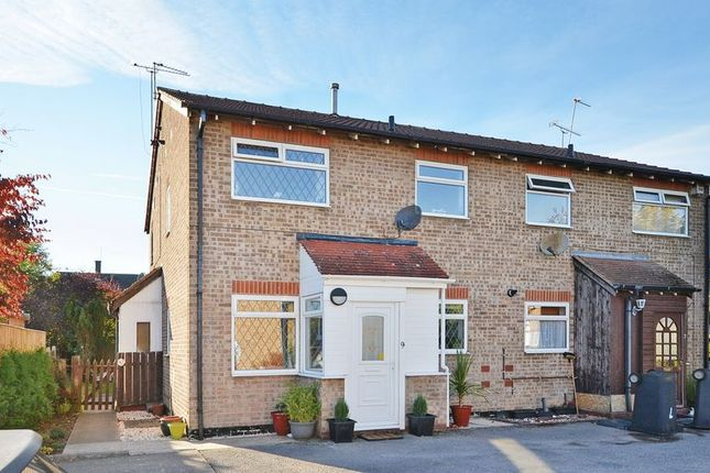 Thumbnail Terraced house for sale in Sandby Court, Gleadless, Sheffield