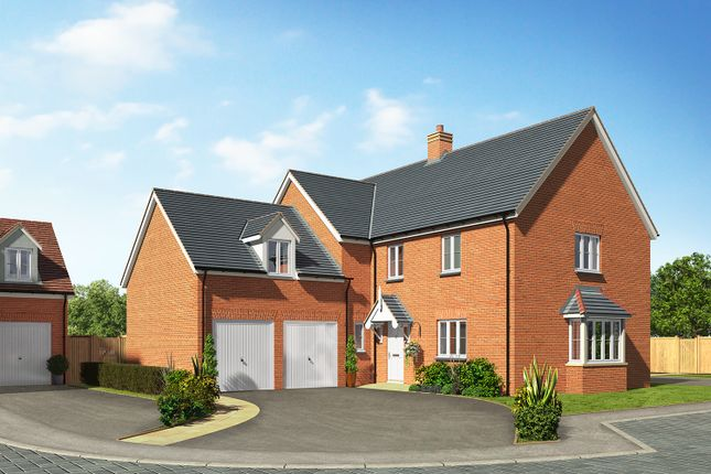 Thumbnail Detached house for sale in Oak View, Shadoxhurst, Ashford