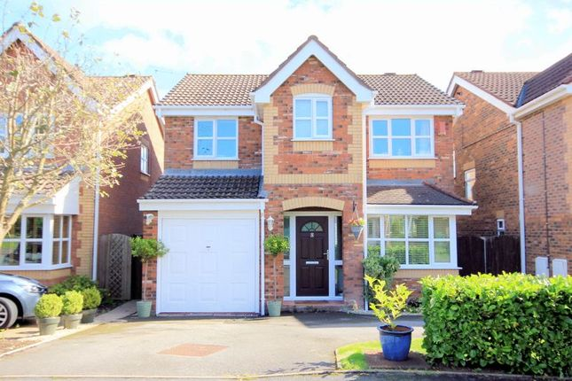 Thumbnail Detached house for sale in Aston Chase, Stone