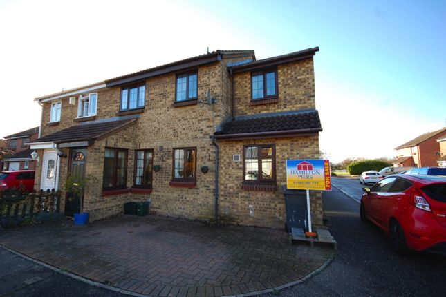 Thumbnail Semi-detached house for sale in Beardsley Drive, Springfield, Chelmsford