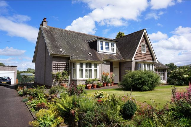 Thumbnail Detached house for sale in Dundee Road, Meigle