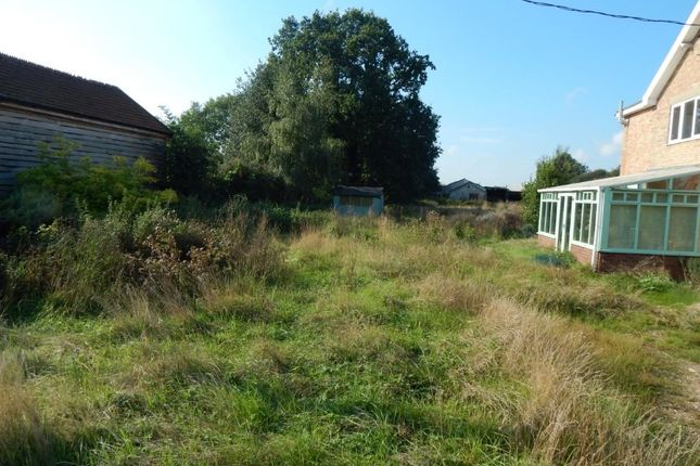 Thumbnail Land for sale in Land Adj. 2 Cantley Villas, Station Road, Spooner Row, Norfolk