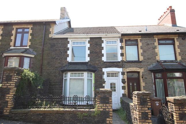 Thumbnail Terraced house to rent in Bedwellty Road, Aberbargoed, Bargoed