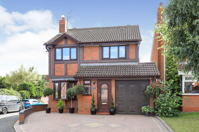 Thumbnail Detached house for sale in Node Hill Close, Studley