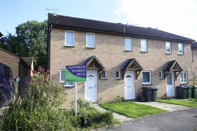 Thumbnail End terrace house for sale in Danvers Mead, Chippenham, Wiltshire