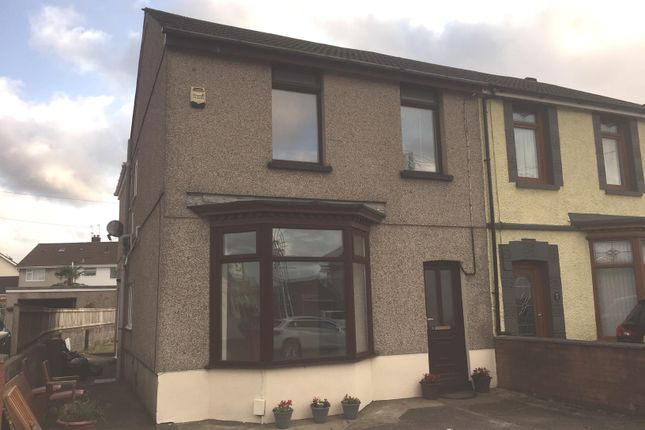 Thumbnail 3 bed end terrace house for sale in Borough Road, Loughor, Swansea