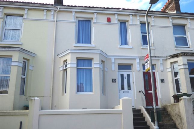 Thumbnail Terraced house for sale in South Milton Street, Plymouth